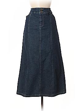 Tribal Denim Skirt Size 6