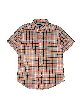 Ralph Lauren Short Sleeve Button-Down Shirt Size 7