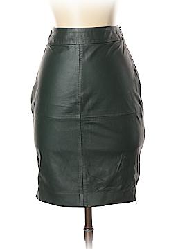 Trina Turk Leather Skirt Size 0