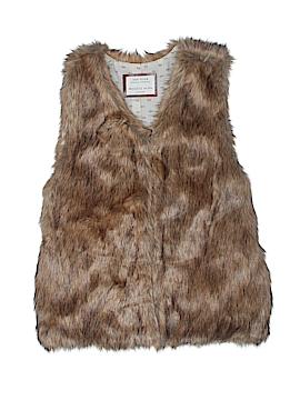 Zara Faux Fur Vest Size 13/14