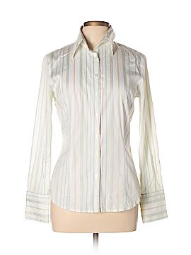 Express Design Studio Long Sleeve Button-Down Shirt Size 10