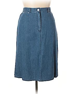 Pendleton Denim Skirt Size 16