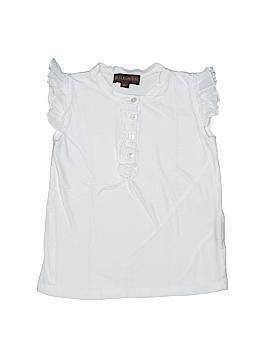 Fleurisse Short Sleeve Henley Size 5