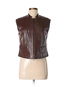 Worth New York Leather Jacket Size 4