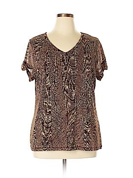 Liz Claiborne Short Sleeve Top Size 2X (Plus)