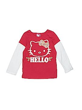 Hello Kitty Long Sleeve T-Shirt Size 3T