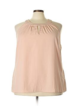 City Chic Sleeveless Blouse Size 22 Plus (XL) (Plus)