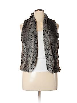 Maurices Faux Fur Vest Size 14 (0)