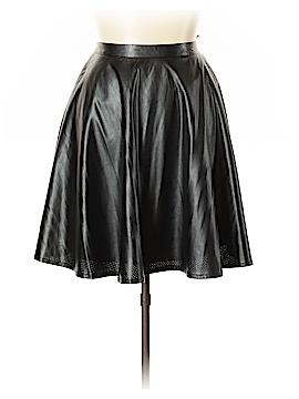 Grace Elements Faux Leather Skirt Size L