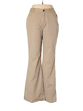 Newport News Khakis Size 14