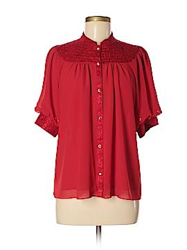 Moulinette Soeurs Short Sleeve Blouse Size 10