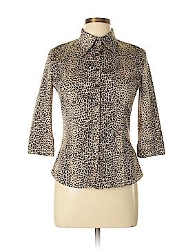 VERTIGO Short Sleeve Button-Down Shirt Size M