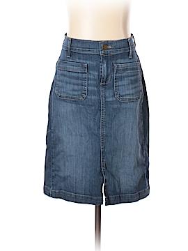 Ann Taylor LOFT Denim Skirt Size 0