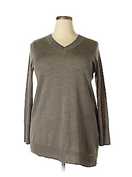 Max Studio Wool Pullover Sweater Size 1X (Plus)