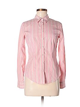 Thomas Pink Long Sleeve Button-Down Shirt Size 8
