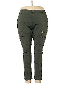 City Chic Cargo Pants Size 24 (Plus)