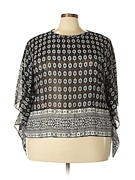 Be Lush 3/4 Sleeve Blouse Size 1X (Plus)