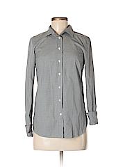 Thomas Mason for J. Crew Women Long Sleeve Button-Down Shirt Size 0