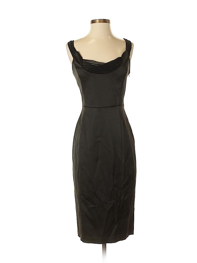 c87eeeeef9 Betsey Johnson Solid Black Cocktail Dress Size 6 - 81% off