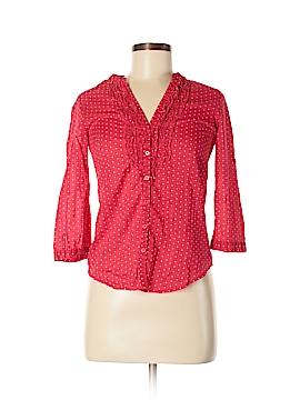Lauren Conrad 3/4 Sleeve Button-Down Shirt Size XS