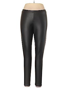 LC Lauren Conrad Faux Leather Pants Size L