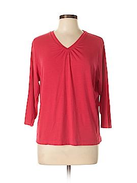 Cathy Daniels 3/4 Sleeve T-Shirt Size L