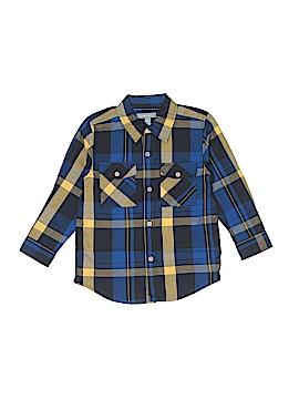 Pumpkin Patch Long Sleeve Button-Down Shirt Size 4