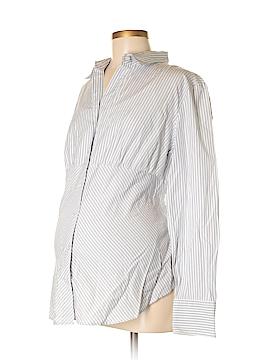 Gap - Maternity Long Sleeve Button-Down Shirt Size L (Maternity)