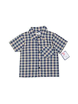 Petit Ami Short Sleeve Button-Down Shirt Size 2T