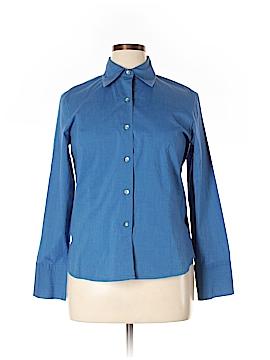 Alfani Long Sleeve Button-Down Shirt Size 12