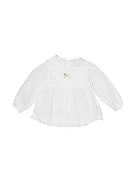 Jacadi Long Sleeve Blouse Size 12 mo
