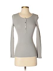 True Grit Women Long Sleeve Henley Size XS