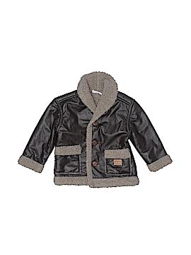 Little Rebels Faux Leather Jacket Size 2T