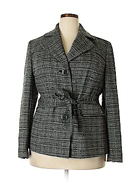 Jones New York Signature Wool Coat Size 1X (Plus)