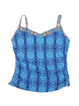 Bleu Rod Beattie Swimsuit Top Size 24w (Plus)