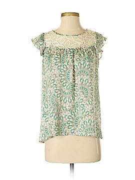 BCBGeneration Short Sleeve Button-Down Shirt Size XS