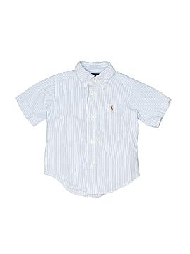 Ralph Lauren Short Sleeve Button-Down Shirt Size 2T - 2