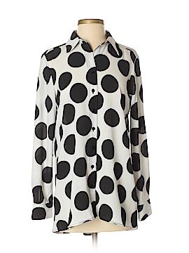 Neiman Marcus Long Sleeve Blouse Size S