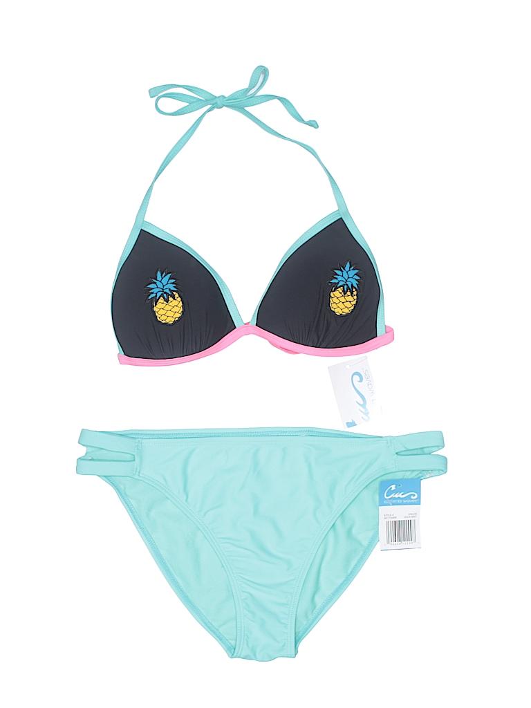 California Waves Women Two Piece Swimsuit Size XL