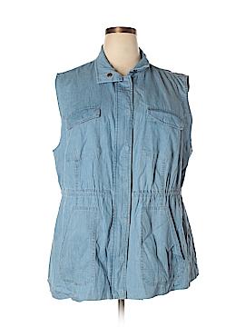Woman Within Vest Size 18 (L) (Plus)