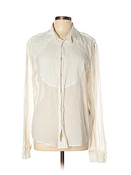 Roberto Cavalli Long Sleeve Button-Down Shirt Size XL