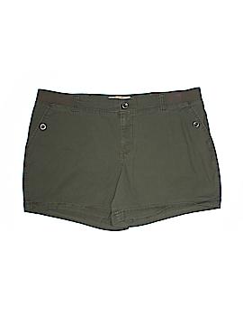 SONOMA life + style Khaki Shorts Size 18W (Plus)