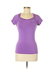 Nike Women Short Sleeve T-Shirt Size XS