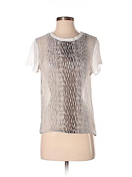 Kelly Wearstler Short Sleeve Silk Top Size M