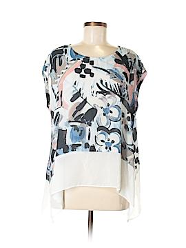 Karen Kane Short Sleeve Blouse Size M