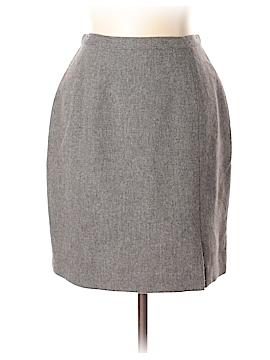 Isaac Mizrahi Wool Skirt Size 10