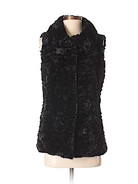 Gallery Faux Fur Vest Size S (Petite)
