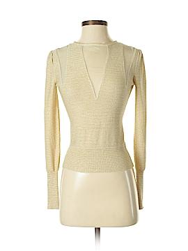 Alice + olivia Silk Pullover Sweater Size S