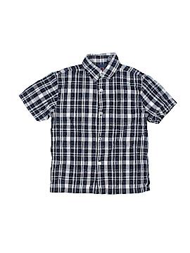 Bugle Boy Short Sleeve Button-Down Shirt Size 4