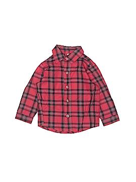 Cuddle Bear Long Sleeve Button-Down Shirt Size 18 mo